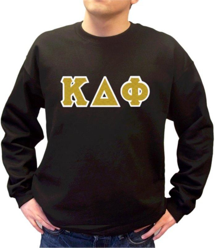 Kappa Delta Phi Sewn Lettered Crewneck Sweatshirt