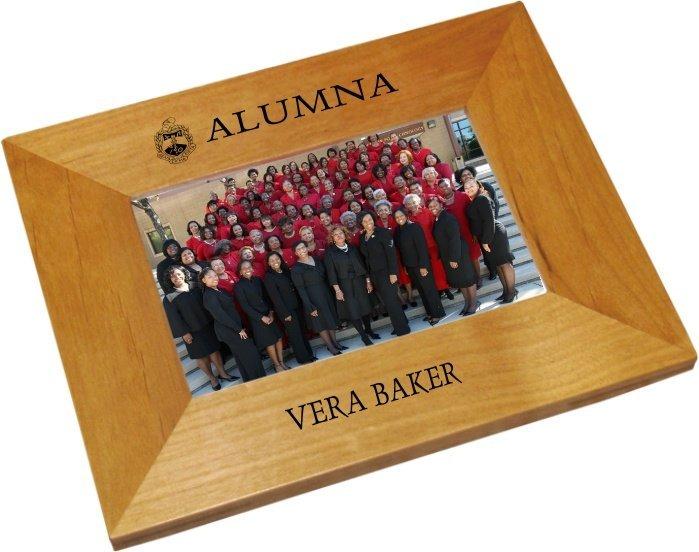 Fraternity & Sorority Alumni / Alumna Wood Picture Frame