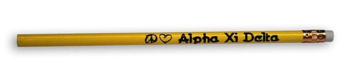 Alpha Xi Delta Pencils