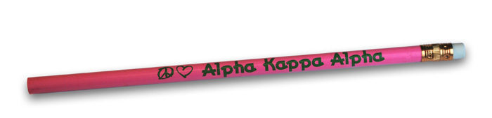 Alpha Kappa Alpha Pencils