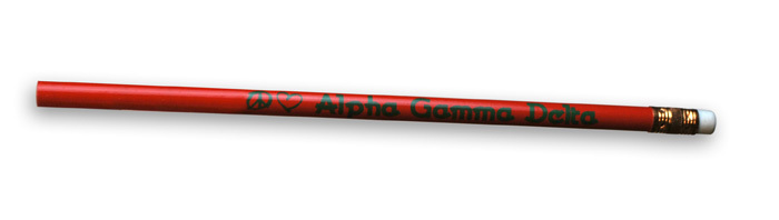 Alpha Gamma Delta Pencils