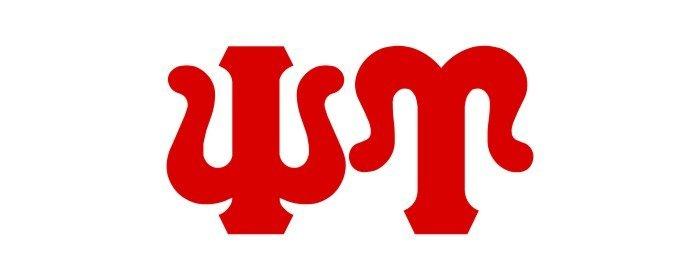 Psi Upsilon Big Greek Letter Window Sticker Decal