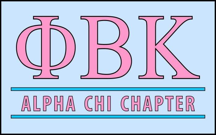 Phi Beta Kappa Custom Line Sticker Decal