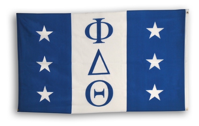 Giant Fraternity Flag