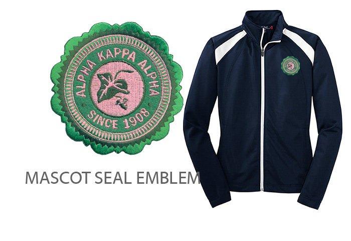 Alpha Kappa Alpha Crest - Shield Track Jacket