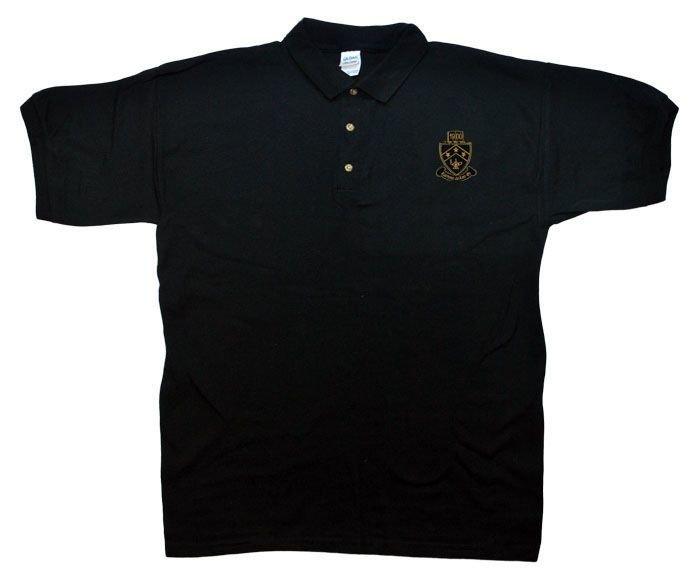 DISCOUNT-Kappa Delta Phi Crest - Shield Emblem Polo