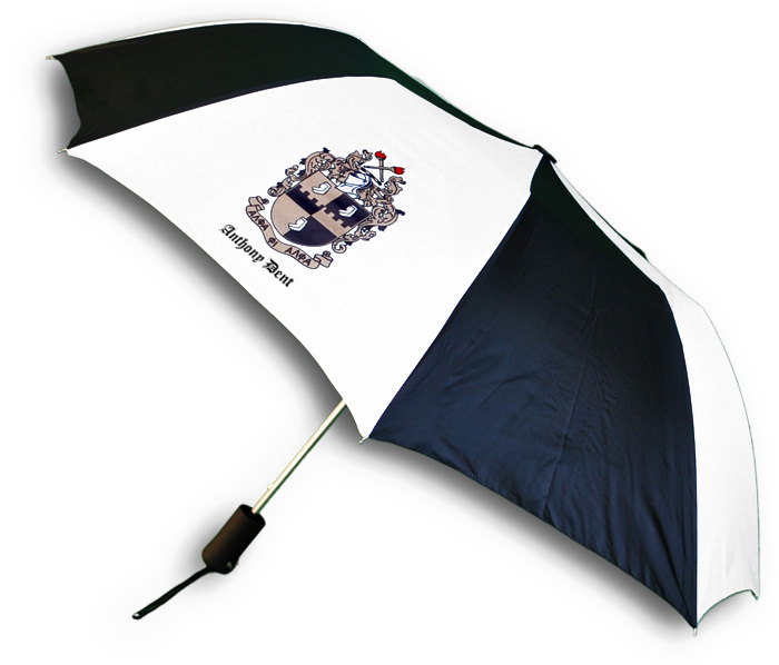 Fraternity Umbrella - crest