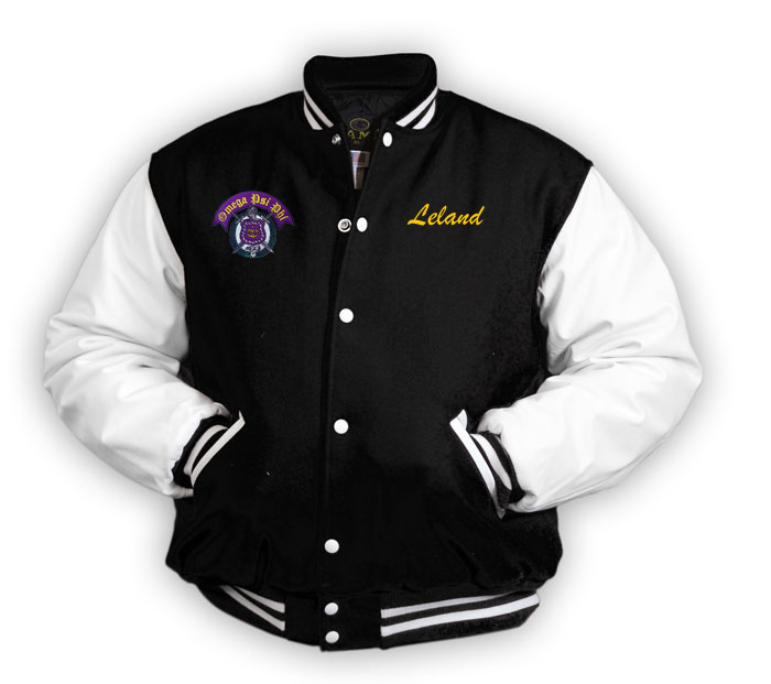 c520c6aa9e Greek Varsity Jacket SALE  229.95. - Greek Gear®