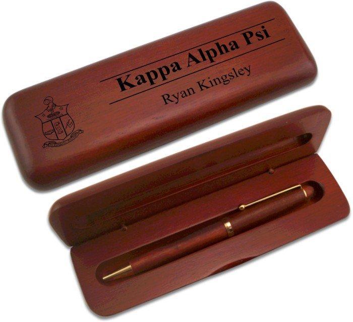 Kappa Alpha Psi Wooden Pen Set
