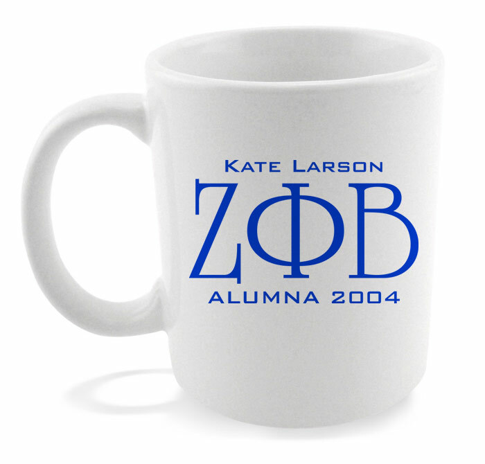 Fraternity & Sorority Alumni / Alumna Coffee Mug