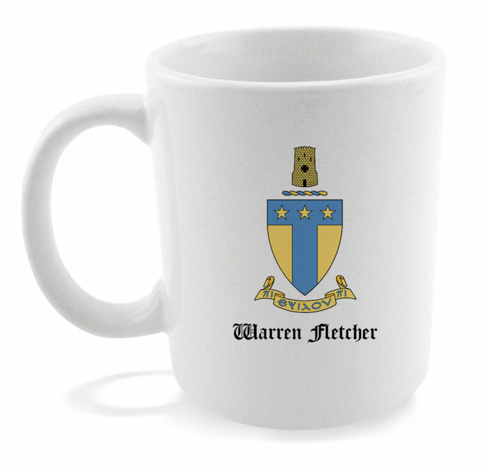 Greek Crest Mug