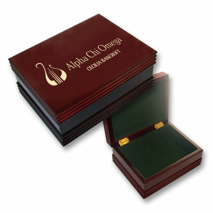 Alpha Chi Omega Mascot Keepsake Box