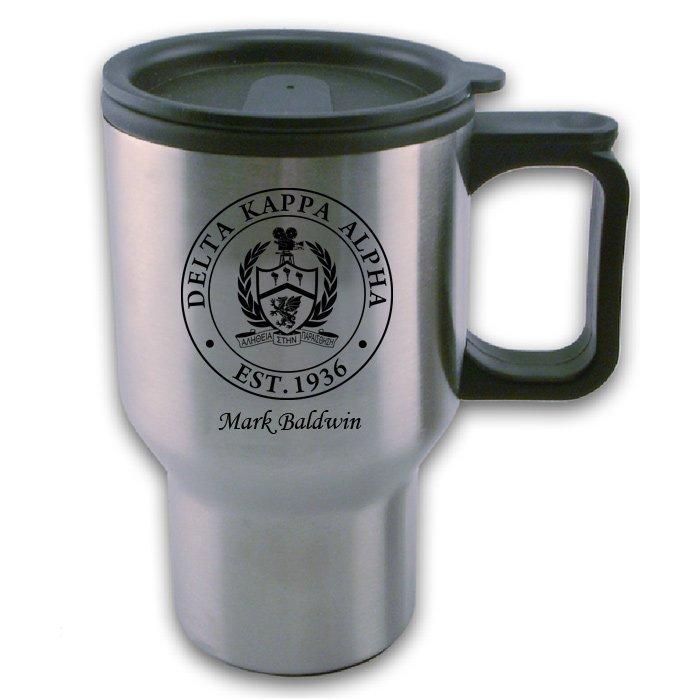 Delta Kappa Alpha Travel Mug