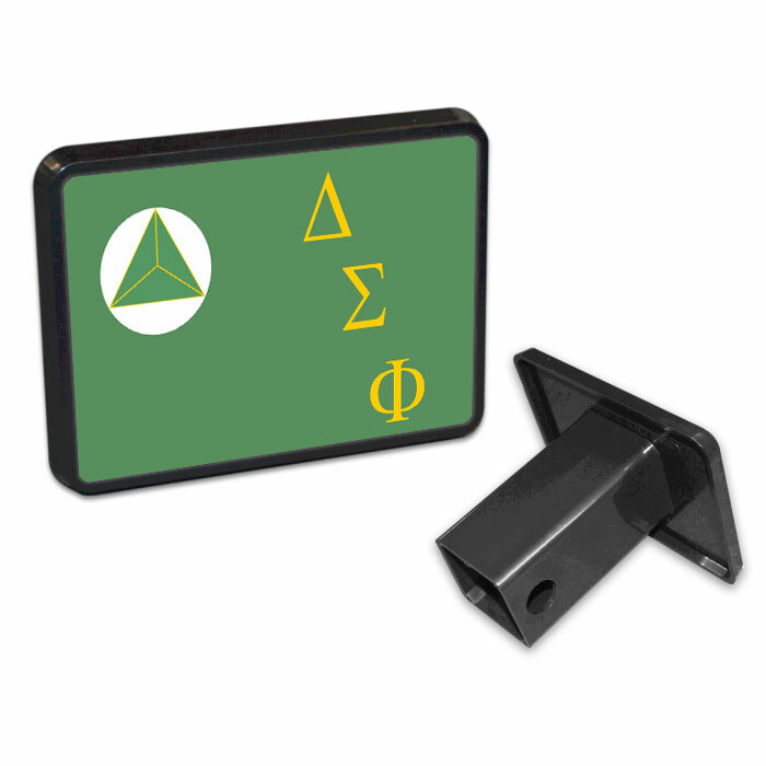 Delta Sigma Phi Flag Trailer Hitch Cover