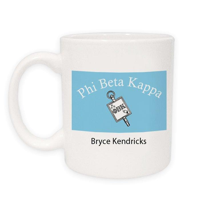 Phi Beta Kappa Flag Coffee Mug