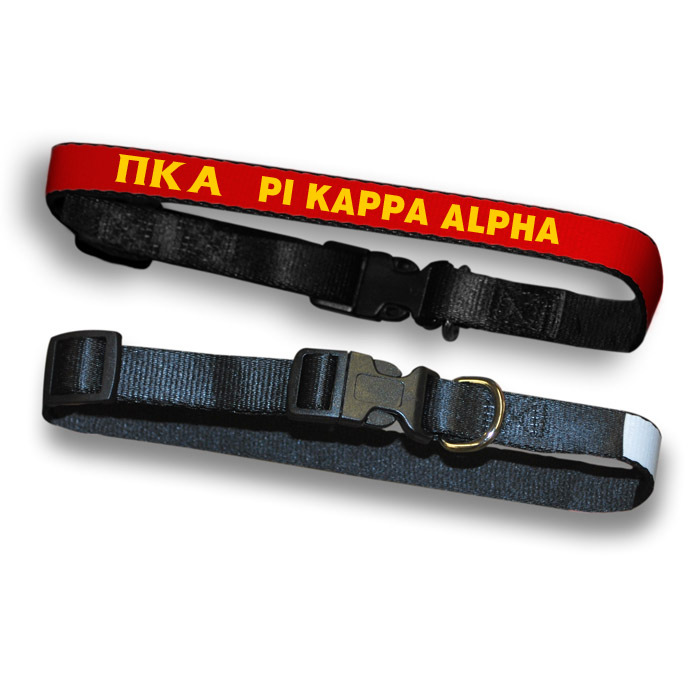 Pi Kappa Alpha Dog Collar