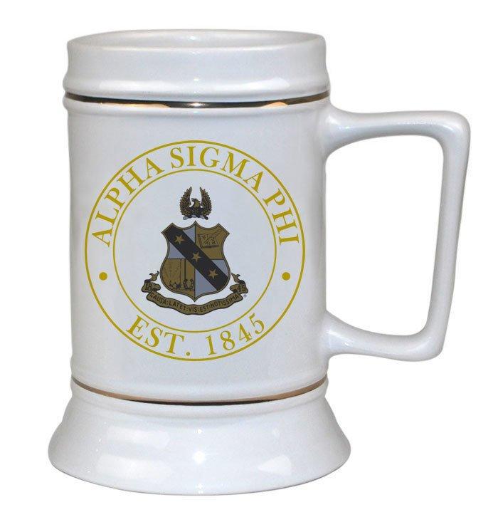 Alpha Sigma Phi Ceramic Stein