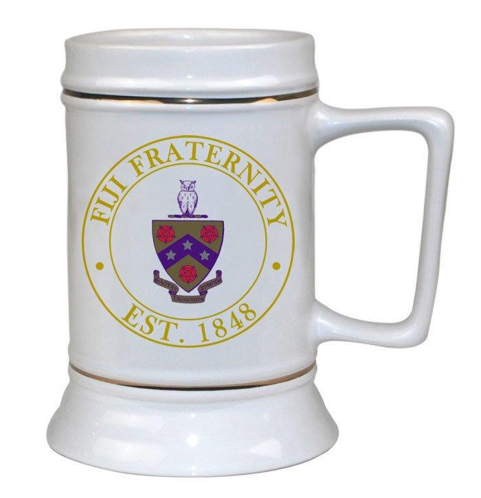 FIJI Fraternity Ceramic Stein