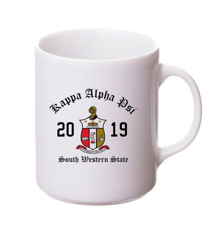 Kappa Alpha Psi Crest & Year Ceramic Mug