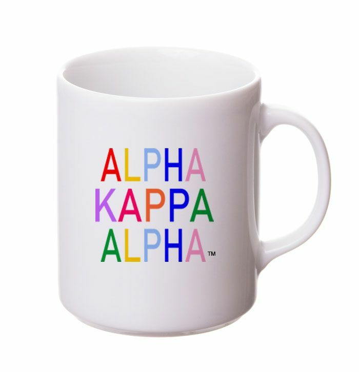 Alpha Kappa Alpha Rainbow Coffee Mug
