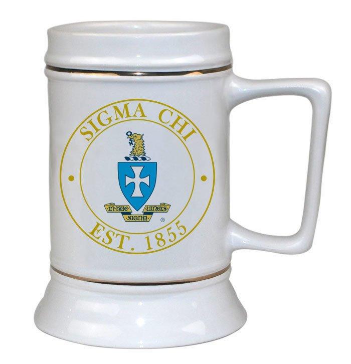 Sigma Chi Ceramic Collectors Stein