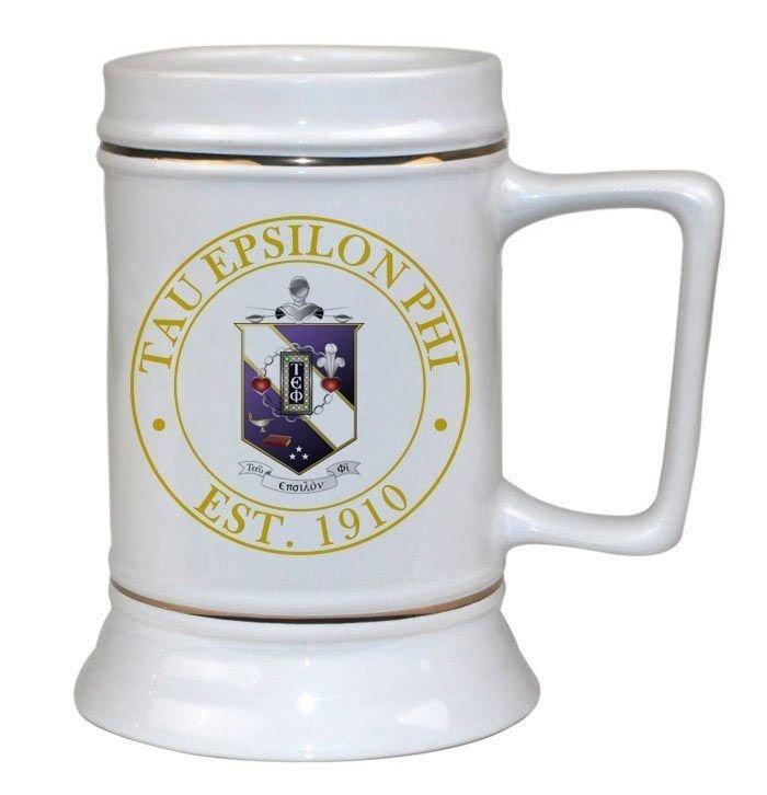 Tau Epsilon Phi Ceramic Stein