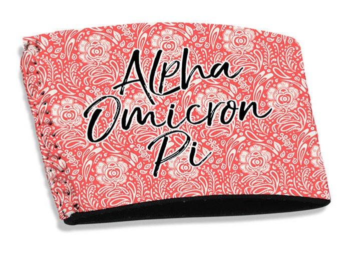 Alpha Omicron Pi Coffee Sleeve