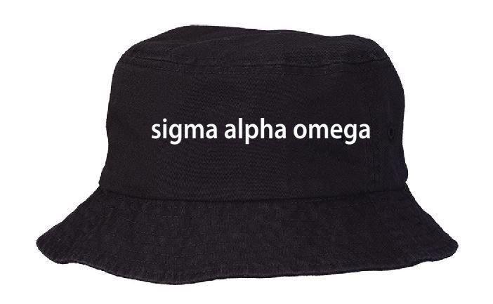 Sigma Alpha Omega Bucket Hat