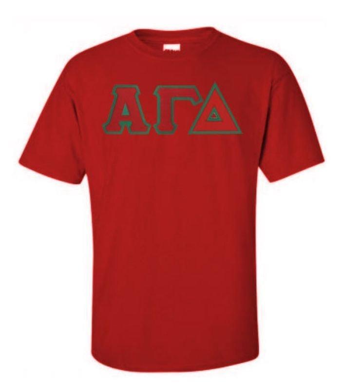 $15 Alpha Gamma Delta Custom Twill Tee