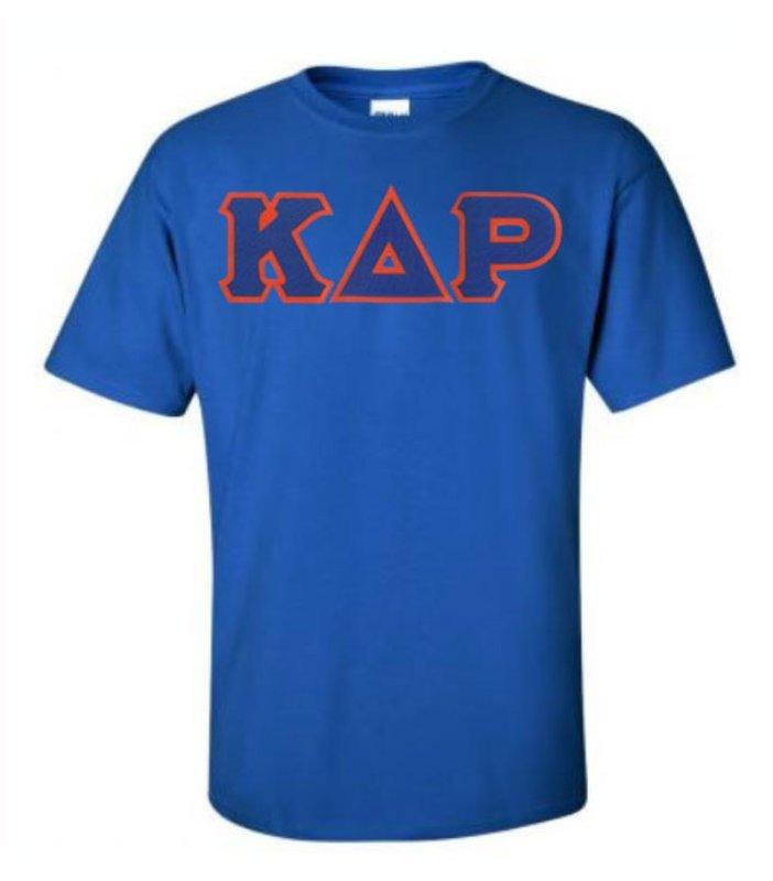 DISCOUNT Kappa Delta Rho Lettered T-shirt