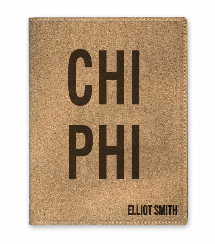 Chi Phi Cork Portfolio with Notepad