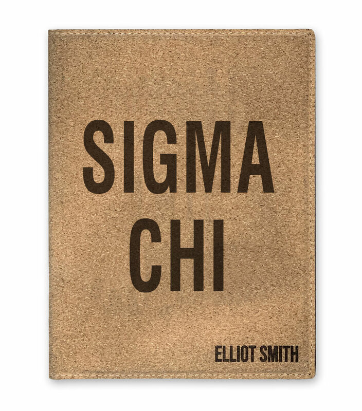 Sigma Chi Cork Portfolio with Notepad