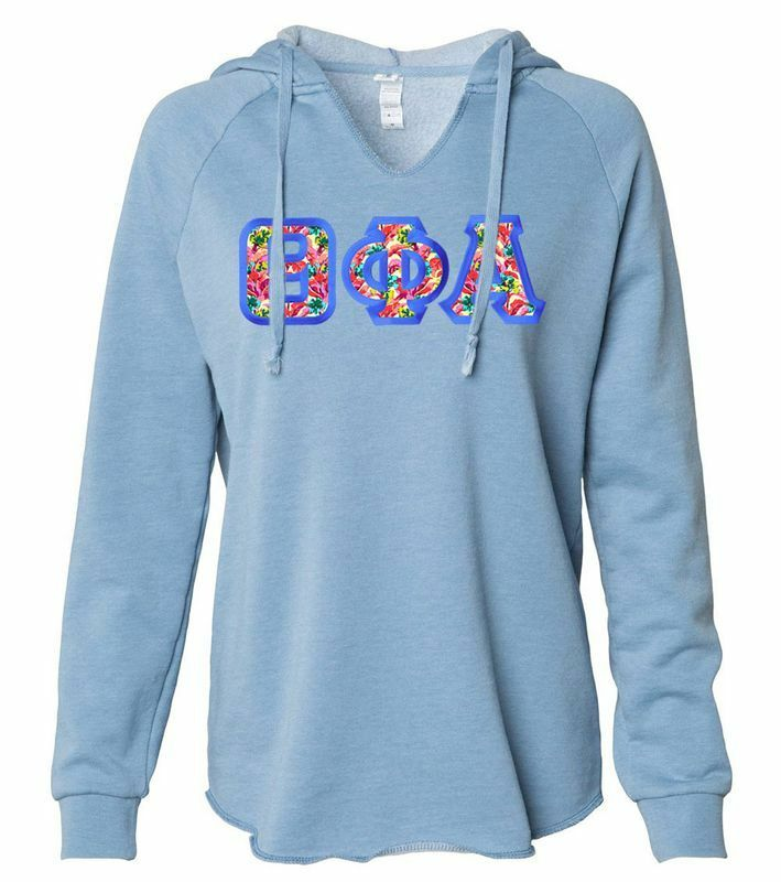 Sorority Lightweight California Wavewash Hooded Pullover Sweatshirt