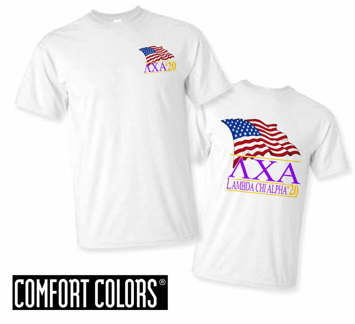 Lambda Chi Alpha Patriot  Limited Edition Tee - Comfort Colors