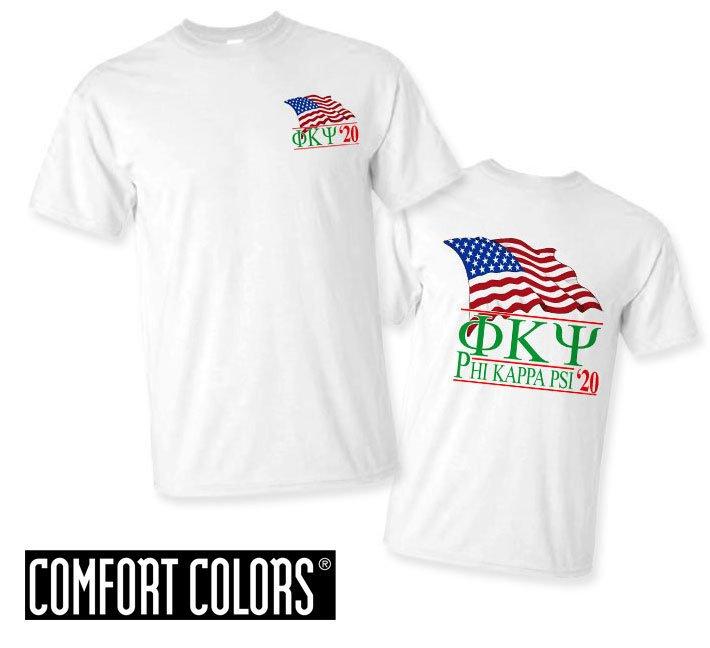 Phi Kappa Psi Patriot  Limited Edition Tee - Comfort Colors