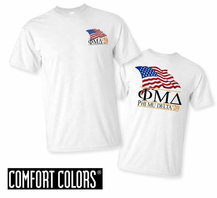 Phi Mu Delta Patriot  Limited Edition Tee - Comfort Colors