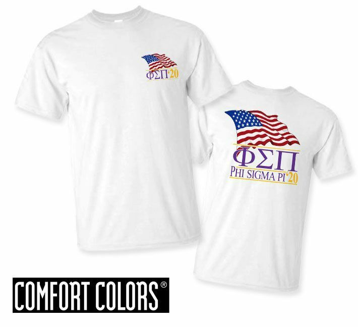 Phi Sigma Pi Patriot  Limited Edition Tee - Comfort Colors