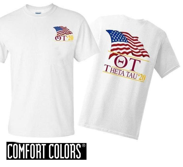 Theta Tau Patriot  Limited Edition Tee - Comfort Colors