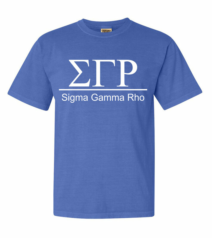 Sigma Gamma Rho Comfort Colors Heavyweight T-Shirt