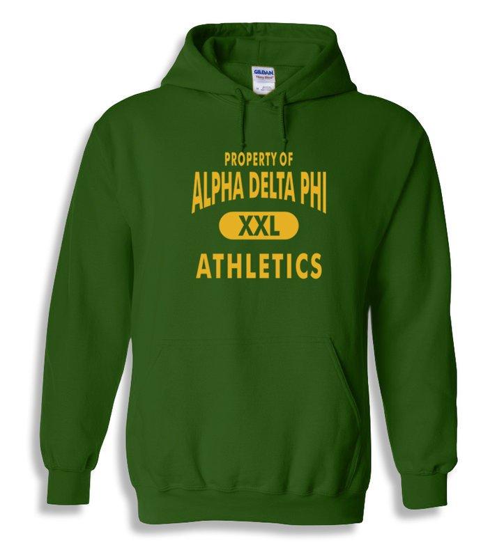 Alpha Delta Phi Property Of Athletics Hoodie