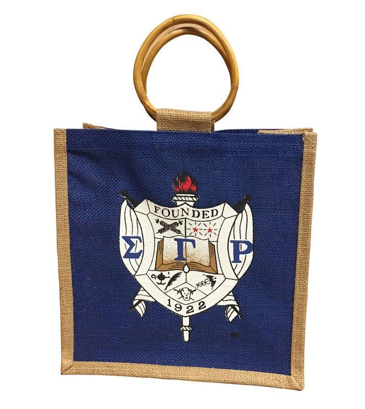Greekgear Sigma Tau Gamma Emblem Briefcase Blue