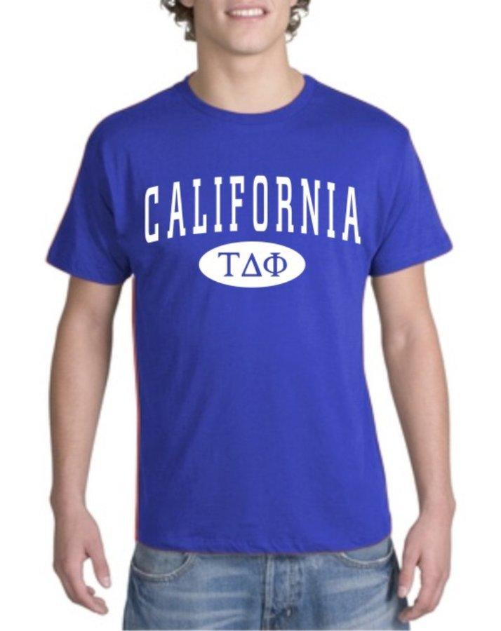 Tau Delta Phi State Shirt