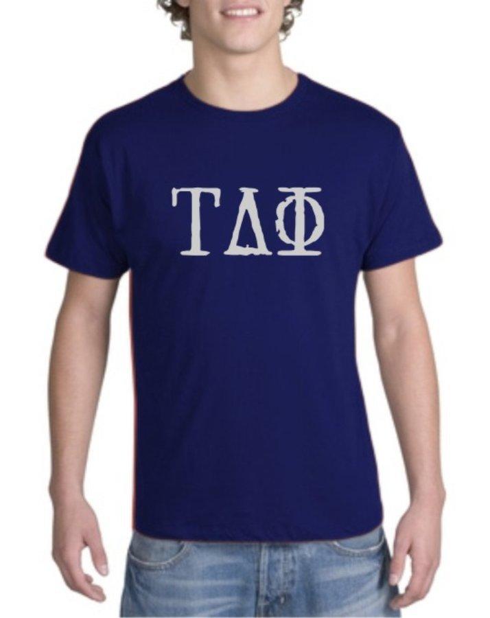 Tau Delta Phi Type Greek Shirt