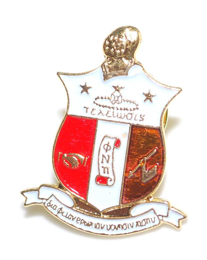 Kappa Alpha Psi 3D Color Shield Pins