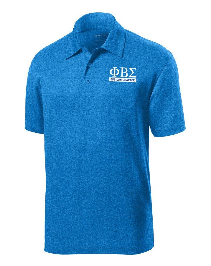 Phi Beta Sigma- $25 World Famous Greek Contender Polo