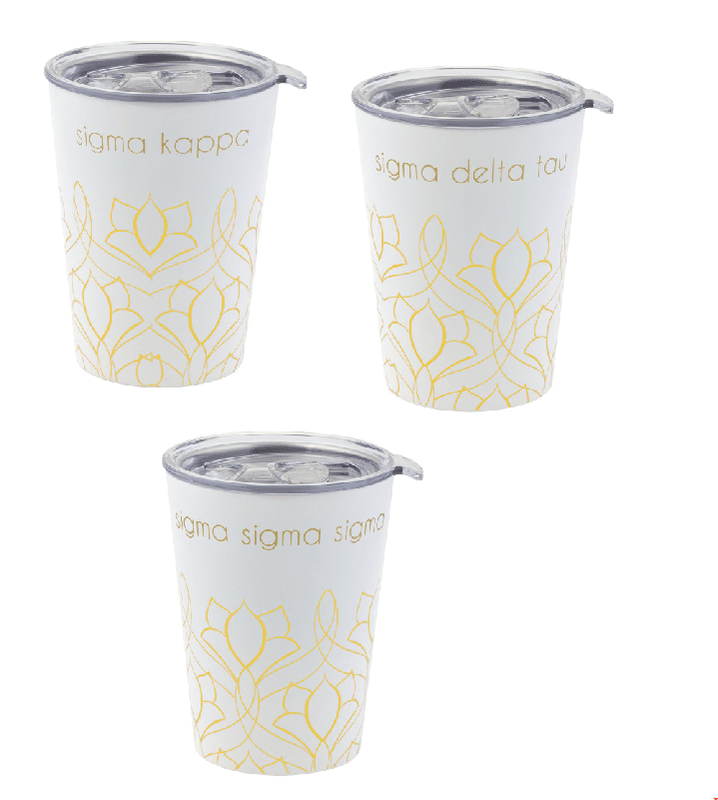 Sorority Short Coffee Tumblers