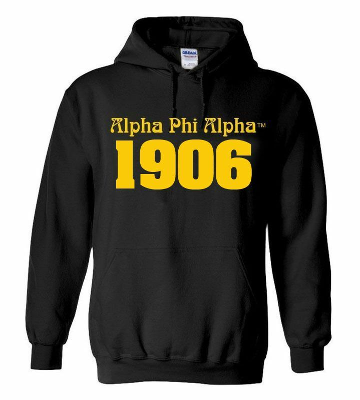Alpha Phi Alpha Logo Hooded Sweatshirt