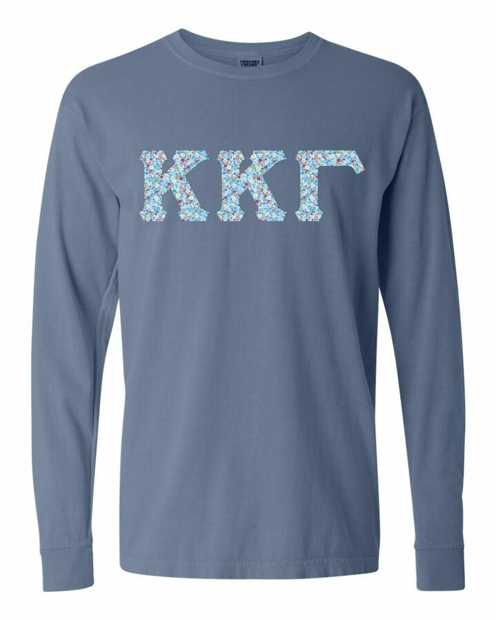 Comfort Colors Lettered Long Sleeve T-Shirt