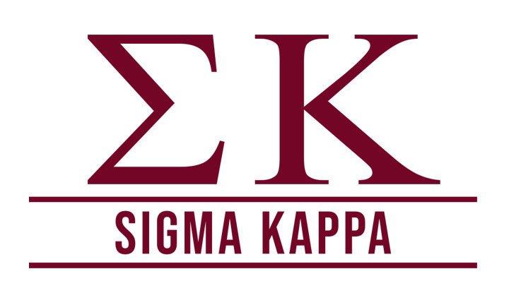 Sigma Kappa Custom Sticker - Personalized