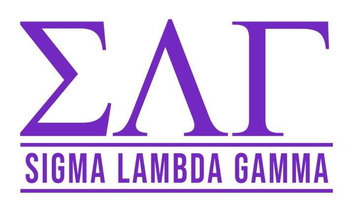 Sigma Lambda Gamma Custom Sticker - Personalized